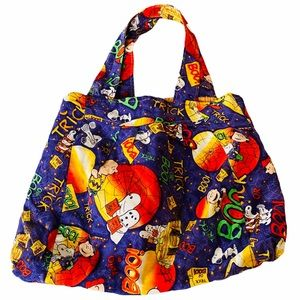 Peanuts Halloween Handmade Cloth Mini Tote